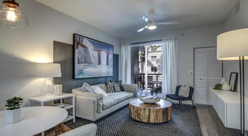 Solmar on Sixth Living Area